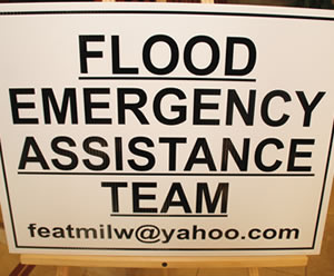 Flood Emergency Assistance Team (F.E.A.T.) opens new headquarters