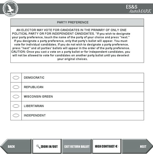 NOTICE OF PARTISAN PRIMARY AND SAMPLE BALLOTS