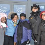 Sheriff David A. Clarke participated in the Salvation Army's Red Kettle Campaign