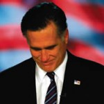 America votes against lies, trickery and deception, Romney exit left