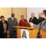 Celebration at City Hall marks 100th birthday of Dr. James Cameron