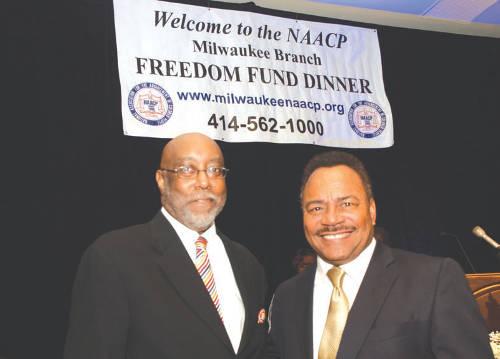 Eric-Von-City-Treasurer-Spencer-Coggs-attend-NAACP-Freedom-Fund-Dinner