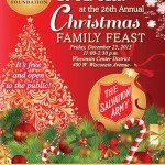 Be Our Guest at The 26th Annual Christmas Family Feast