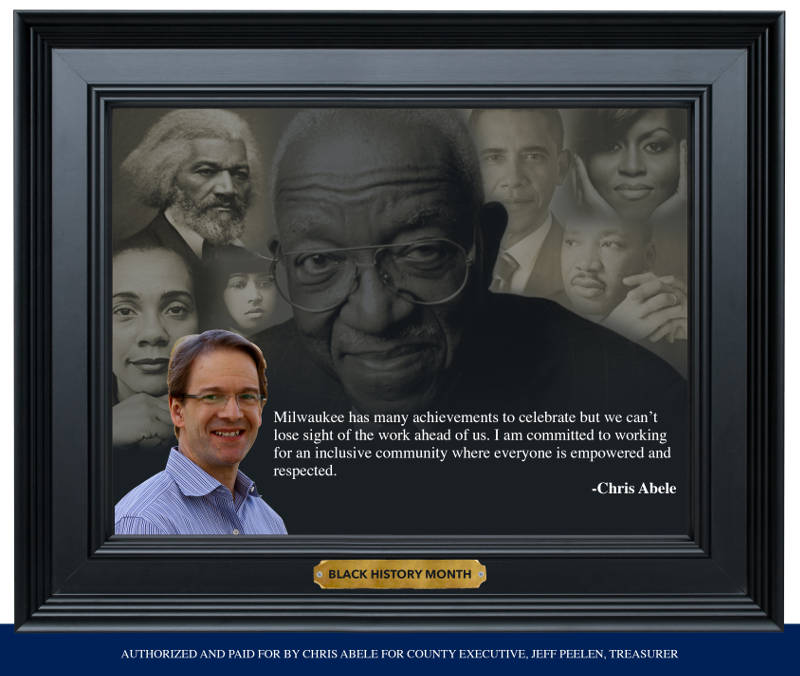 Chris Abele Supports Black History Month