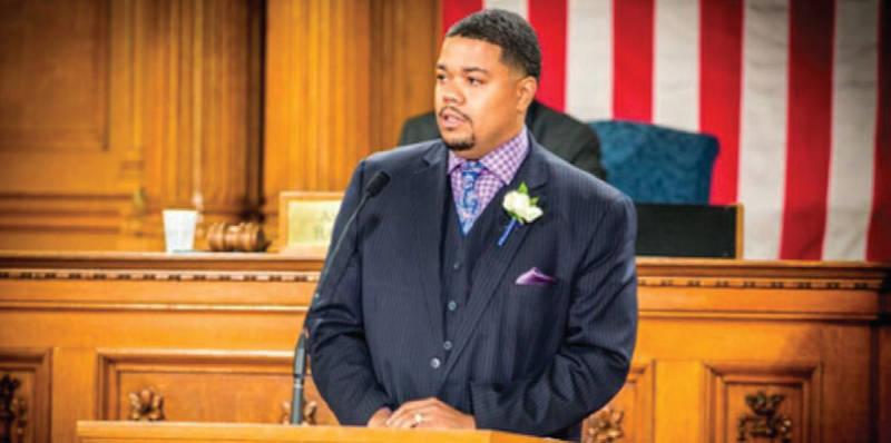 7th District Candidate elect Alderman Khalif Rainey. Photo by PARKHILL MEDIA LLC