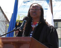 Chief Judge Maxine White. Photo by Karen Stokes