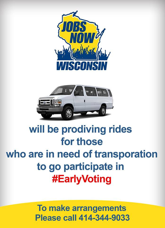 Free Rides For Early Voting
