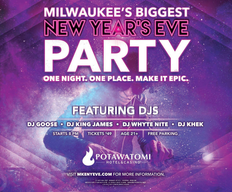 Milwaukee's Biggest New Years Eve Party at Potawatomi ...