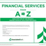 Financial Services from A to Z at Associated Bank
