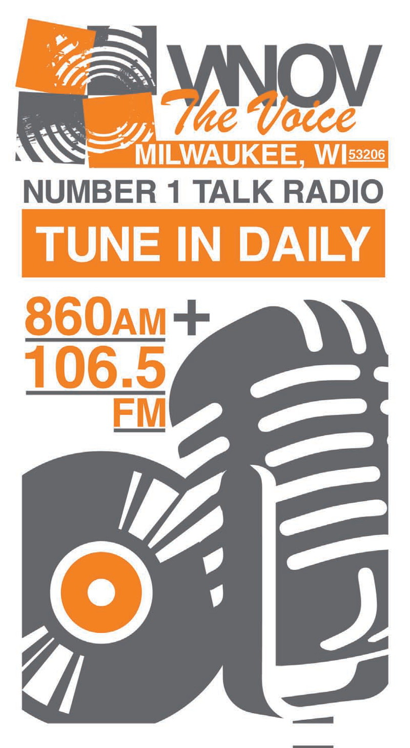 WNOV The Voice - Number 1 Talk Radio - Tune In Daily - 860AM & 106.5FM